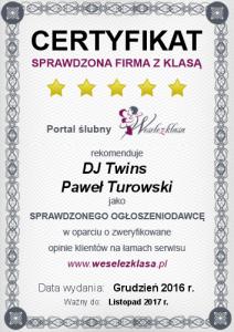DJ TWINS - DJ na Wesele Białystok